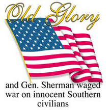 4948L OLD GLORY AND GEN SHERMAN WAGE