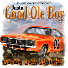 6386L JUSTA GOOD OLE BOY, NEVER