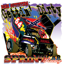 6614L GETTIN' DIRTY, SPRINT CAR