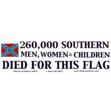 260,000 Men Woman & Children Died For This Flag
