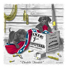 3485L PUPPIES DOUBLE TROUBLE - YOUTH