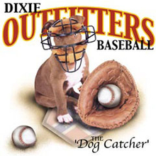 4766L DIXIE CATCHER WITH PUPPY