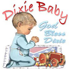 4889L GOD BLESS DIXIE - BOY PRAYING