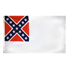 Polyester 3X5 - 2nd National Confederate Flag