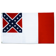 Polyester 3X5 - 3rd National Confederate Flag
