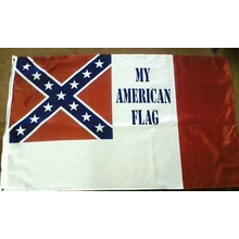 Polyester 3X5 - 3rd National Confederate My American Flag