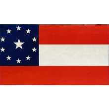 Polyester 3X5 - 11 Star- Stars & Bars Flag