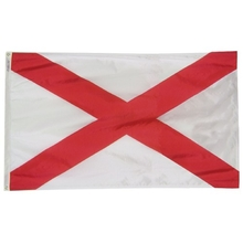 Polyester 3X5 - Alabama State Flag