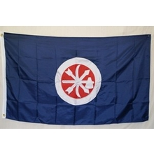 Polyester 3X5 - Choctaw Braves Flag