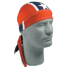 Confederate Head Wrap with Sweat Band