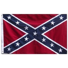 Embroidered Nylon 3X5 Confederate Battle Flag