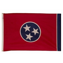 Embroidered Nylon 3X5 Tennessee State  Flag
