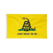 Embroidered Nylon 3X5 Gadsden Flag