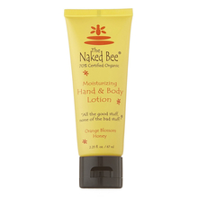 Naked Bee - Orange Blossom Honey Hand & Body Lotion 2.25 oz.