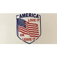 America Love It Or Leave It