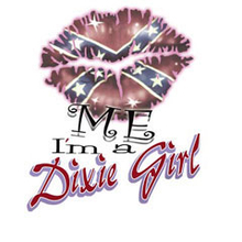 5332L KISS ME I'M A DIXIE GIRL