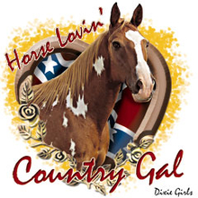 6581L HORSE LOVIN' COUNTRY GAL
