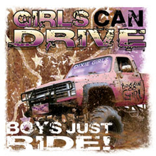 6579L GIRLS CAN DRIVE, BOYS JUS